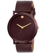 New Volga Browen Best Designing Stylist Looking Professional ANalog Watch For Men Boys