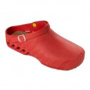 Választható ajándékkal! Scholl Clog EVO piros papucs ütéscsillapító Memory Cushion talppal 37-46