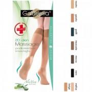 Ciorapi trei sferturi Gabriella Medica Knee-High Aloe Vera 20 DEN 502