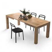 Mobili Fiver Mesa de cocina extensible, modelo Iacopo, color Madera Rustica