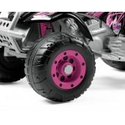 Peg-Pérego T-Rex roz - Roata din față