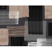 Zomerse en Fleurige tafellakens - Ronde tafelkleden - Kwalitatief - Waterafstotend - Vlekwerend - Gemakkelijk in onderhoud - Afgewerkt met biaislint - Opgerold op dunne rol - Geen plooien - 155cm rond - Zwart