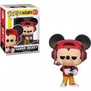 Funko Pop Gamer Mickey con gorra Exclusivo