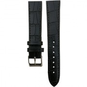Flux Croco Padded 18 mm Leather Watch Strap