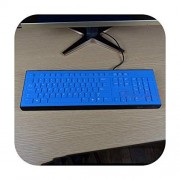 Keyboard Cover Funda Protectora para Teclado de computadora de sobremesa, Resistente al Agua, a Prueba de Polvo, Transparente, para HP Compaq Acer Pr1101U, Allblue