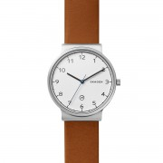 Karóra SKAGEN - Ancher SKW6433 Brown/Silver