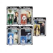 Star Wars The Black Series 40Th Anniversary 6 Figure - Luke Skywalker/Han Solo/Ben (OBI-Wan) Kenobi/Princess Leia Organa/Artoo-Detoo (R2-D2) 5 Pack Set
