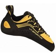 La Sportiva Finale Cat Feet Tenis para caballeros, Negro, 38 US
