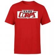 Valiant Comics Classic Hard Corps Logo T-Shirt - L - Red