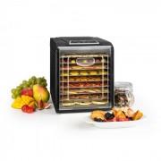 Fruit Jerky 9 Essiccatore Timer 9 Ripianii 600-700W Nero