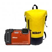 Nikon Coolpix W300 holiday kit Oranje