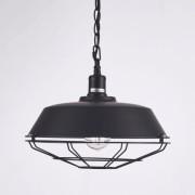 Kosiluz Lámpara de techo negra modelo industrial - Phoenix