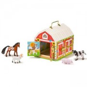 Детска игра - Хамбар със закопчалки и животни, 12564 Melissa and Doug, 000772125642