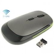 Optisk trådlös mus - Grå/grön