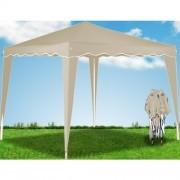 Zahradní párty stan altán Deu NOLY- béžová 3 x 3 m
