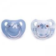 Комплект анатомични силиконови залъгалки за момче - Evolution, Suavinex, 254064