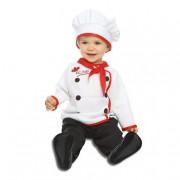 Viving Costumes S.L Disfraz Bebé - Cocinero 0-6 Meses