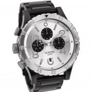 Reloj Nixon A486180 48-20 Grafo 200m -Plateado - Negro