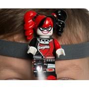 LEGO Batman Movie - Harley Quinn Head Lamp w/ Elastic Headband