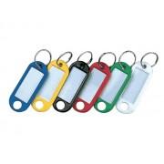Eticheta suport plastic pentru chei 10 buc/set