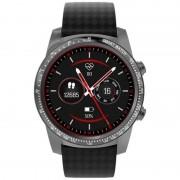 Smartwatch AllCall W1, 3G, 2GB RAM, 16GB ROM, AMOLED 1.39inch, Android 5.1, MTK MT6580M QuadCore, Bluetooth v4.0, GPS, 400mAh, Gri inchis