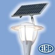 Napelemes dekoratív közterületi lámpa-rendszer AVIS-02M 3xXM-L napelemes müködés + hálózat 34431077 Elba