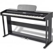 Sonata Дигитално пиано с 88 клавиша и педали, борд от черен меламин
