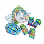 Set rotile Paw Patrol Saica pentru copii cu accesorii protectie si casca marimi reglabile 24-29