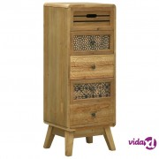 vidaXL Komoda s 5 ladica smeđa 37 x 30 x 97,5 cm drvena
