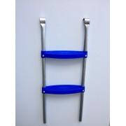 Trambulin létra - létra kültéri trambulin szettekhez kék műanyag fokokkal 2,44-3,05 m trambulin átmé