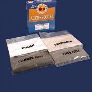 4 Rock Polishing Grit Packs for Tumblers