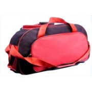 One Up DB26000D Expandable Small Travel Bag - Large(Red, Black)