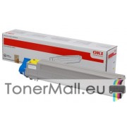 Тонер касета OKI 43837129 (Yellow)