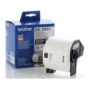 Etichete de hârtie mari pentru transport Brother DK11241, 102 mm x 152 mm, negru/alb, 200 buc