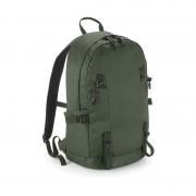 Quadra Olijf groene rugzak/rugtas voor wandelaars/backpackers 20 liter
