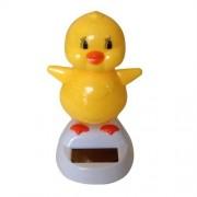 "Solar Powered Dancing Chick Yellow 4"""