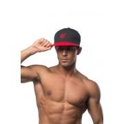 Jed North Signature Snapback Hat Black/Red AC001