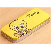 Tweety Double Layer Metal Pencil Case, Retail