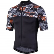 Nalini Centenario Short Sleeve Jersey - XL - Black/Grey