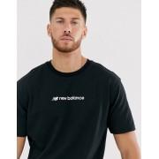 New Balance Athletics t-shirt in black