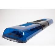 Rampa luminoasa rotoare cu difuzor si sirena 100W - lungime 1092mm