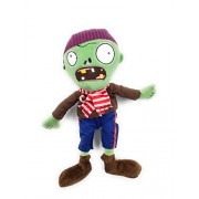 Plants Vs Zombies Soft Toy Purple Zombie With Beanie And Scarf - 12 Inches ~ Pillow ~ Plush Toy