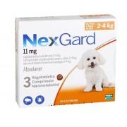 NexGard S - 3 comprimate caini 2-4 kg