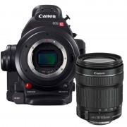 Canon EOS C100 mark II + 18-135mm iS STM