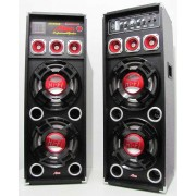 Set 2 boxe cu amplificare si MP3 Alien AN-827