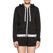 Calvin Klein Dámská mikina Sweatshirt QS5667E-001 Black S
