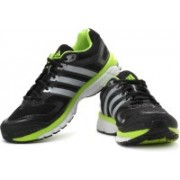 ADIDAS Response Cushion 22 M Running Shoes For Men(Black, Green, Silver)