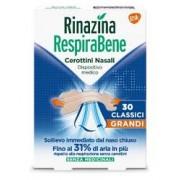 Glaxosmithkline C.Health.Spa Rinazina Respirabene Cerotti Nasali Classici Grandi 30 Pezzi