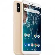 Смартфон Xiaomi Mi A2 4/64 GB, Dual SIM, 5.99 инча, Златист, MZB6470EU