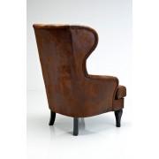 Kare Design Fauteuil Wing - Bruin